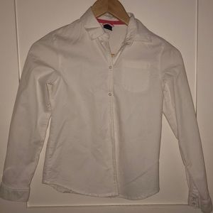 Smart White Button Up